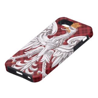 Polish White Eagle Plaid iPhone 5 Case-Mate Tough™