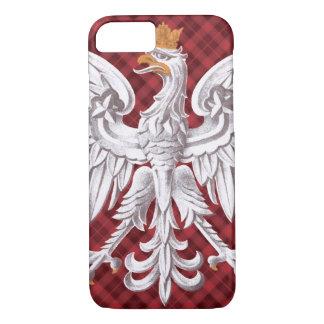 Polish White Eagle Plaid iPhone 7 Barely iPhone 7 Case