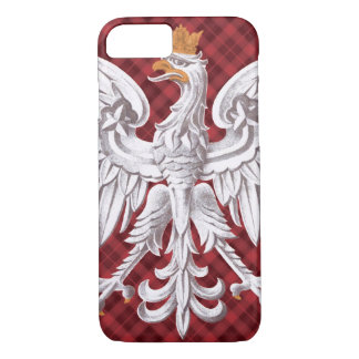 Polish White Eagle Plaid iPhone 7 Barely iPhone 8/7 Case