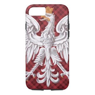 Polish White Eagle Plaid iPhone 8/7 Case