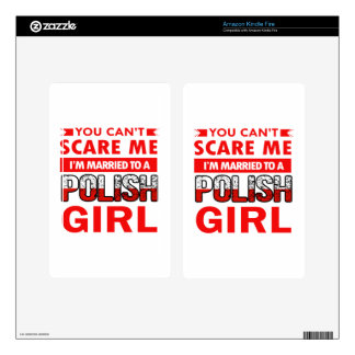 Polish Wife Decal For Kindle Fire