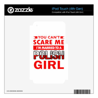 Polish Wife Skin For iPod Touch 4G