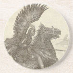 Polish Winged Hussar Drink Coaster