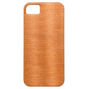 Polished Copper Wavy Texture Background iPhone 5 Cases