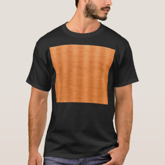 Polished Copper Wavy Texture Background T-Shirt