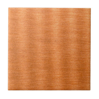 Polished Copper Wavy Texture Background Tile