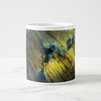 Polished Labradorite Giant Coffee Mug