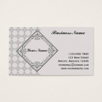 Polished Medallion Business Card