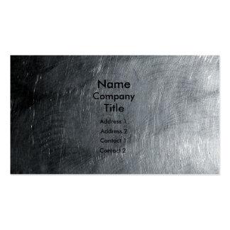 Polished Steel Business Card
