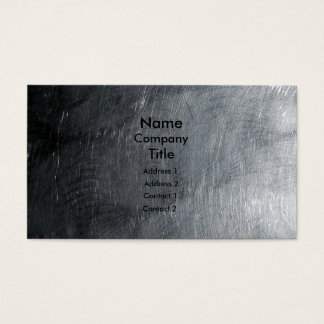 Polished Steel Business Card