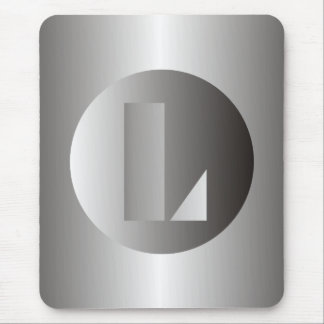 "Polished Steel ""L"" Mouse Pad"