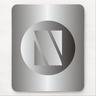 "Polished Steel ""N"" Mouse Pad"