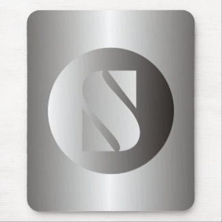 "Polished Steel ""S"" Mouse Pad"