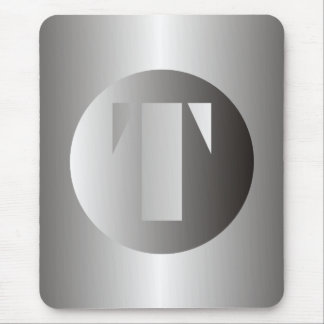 "Polished Steel ""T"" Mouse Pad"