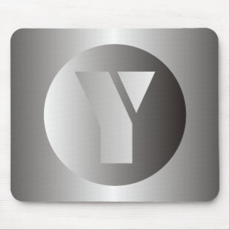 "Polished Steel ""Y"" Mouse Pad"