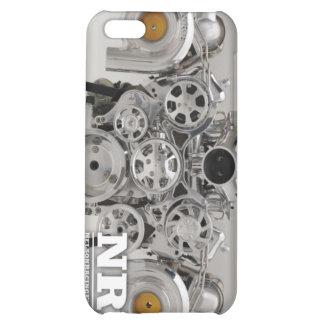 Polished Twin Turbo Engine iPhone 5C Covers