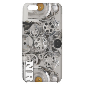 Polished Twin Turbo Engine iPhone 5C Cover