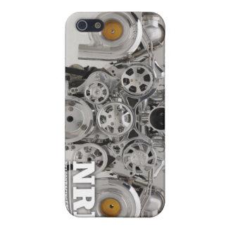 Polished Twin Turbo Engine iPhone SE/5/5s Case