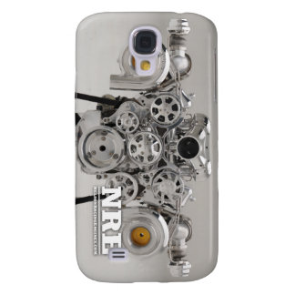 Polished Twin Turbo Engine Samsung Galaxy S4 Case
