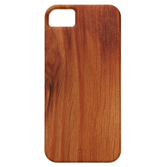 Polished Wood Pattern iPhone 5/5S Case