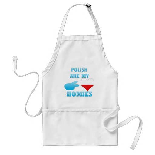 polishs are my Homies Aprons