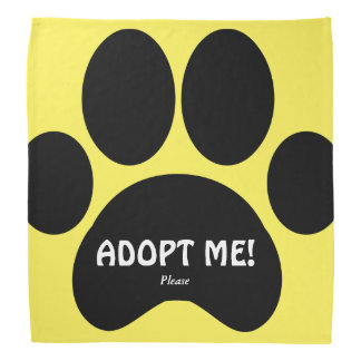 Polite Dog Adoption Bandana