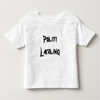 Politi Lærling, police Trainee in Norwegian Toddler T-shirt