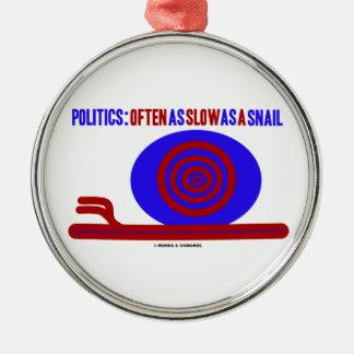 Política: A menudo tan lento como un caracol Ornamento Para Reyes Magos