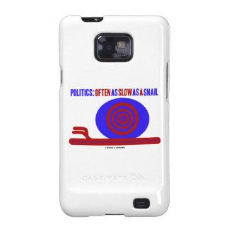 Política: A menudo tan lento como un caracol Galaxy S2 Fundas