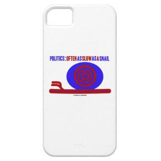 Política: A menudo tan lento como un caracol iPhone 5 Case-Mate Funda