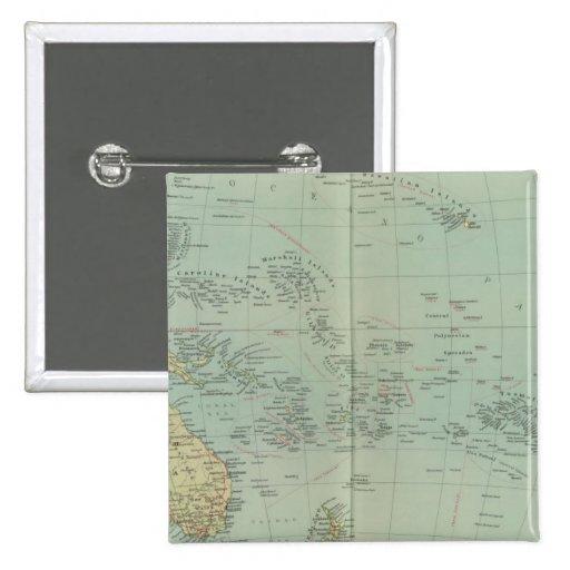 Política de 16465 Oceanía Pin
