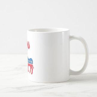Política de fiesta del té republicana de Teabagger Taza De Café
