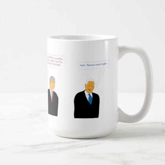 Política de la oficina taza de café