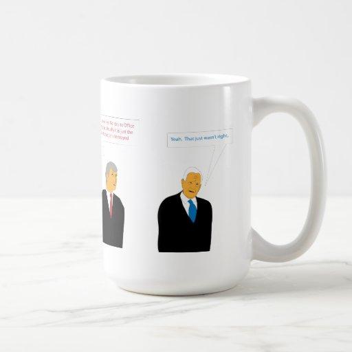 Política de la oficina tazas de café