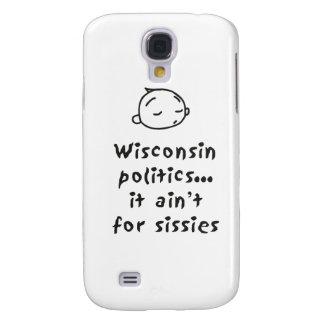 Política de Wisconsin Carcasa Para Galaxy S4