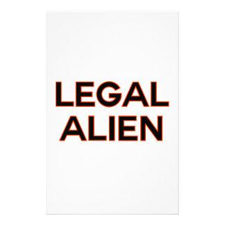 Política divertida legal de la reforma de papeleria de diseño