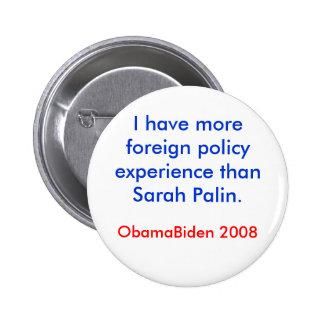 Política exterior de Palin Pins