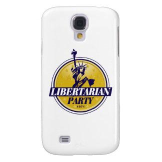 Política libertaria del logotipo del fiesta