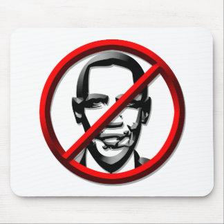 Política - los E.E.U.U. - ningún símbolo de Obama Alfombrillas De Ratón