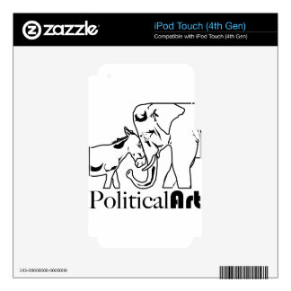 Political Art Decals For iPod Touch 4G