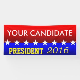 Political Banners YOU Customize Banner