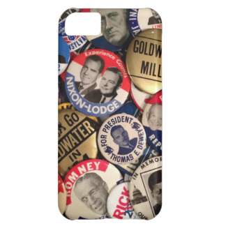 Political Buttons Cover For iPhone 5C