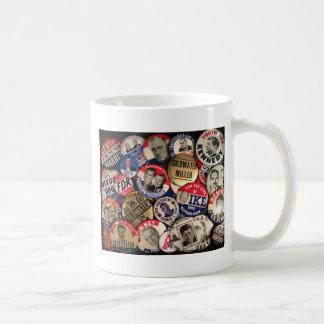 Political Buttons Coffee Mug
