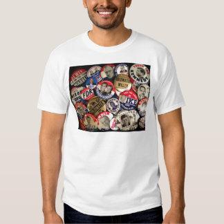 Political Buttons T Shirt