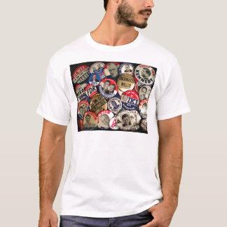 Political Buttons T-Shirt