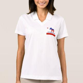 political california democrat polo shirt