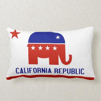 political california republic lumbar pillow