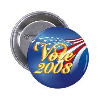 Political Campaign Button