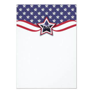 Political Campaign Election Patriotic July 4th Card