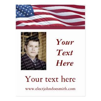 Political Campaign Election Postcard Templates